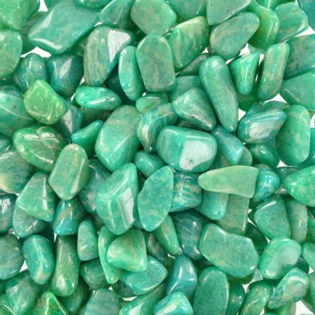 Lot chips amazonite verte/250 gr
