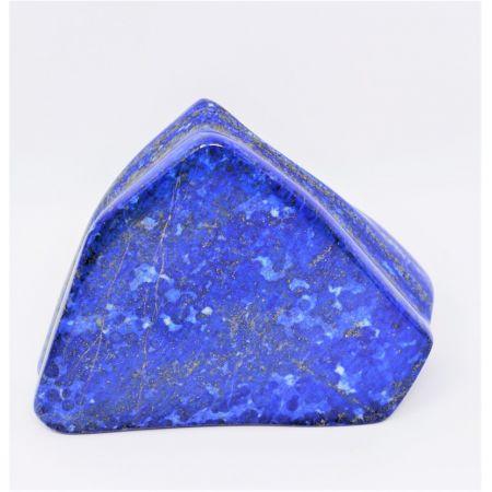 Blocs Lapis-Lazuli poli forme différente