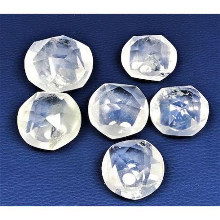 Pentagrammes pierres Cristal de roche