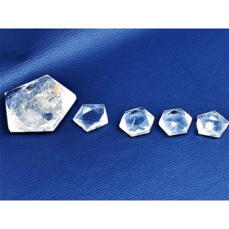 Hexagones Cristal de roche