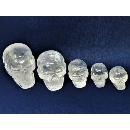 Crânes de cristal de roche