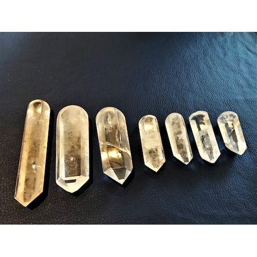 Pointes Cristal de roche de Massage