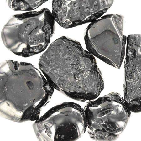 Poids du lot de tectite : 150 gr. 9 pierres env.