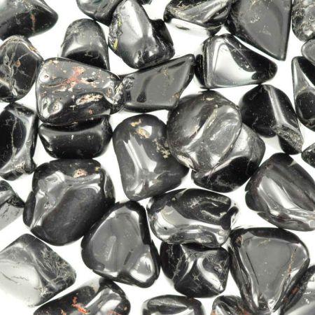 Poids du lot de tourmaline noire: 250 gr. 41 pierres