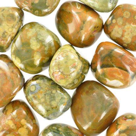 Poids du lot de rhyolite : 250 gr. 14 pierres env.