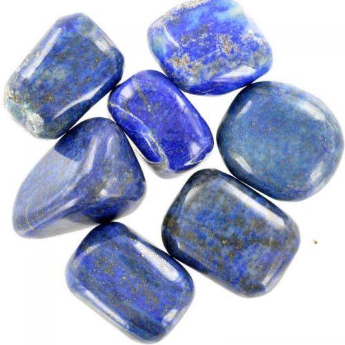 Poids du lot de lapis-lazuli : 150 gr. 7 pierres env.