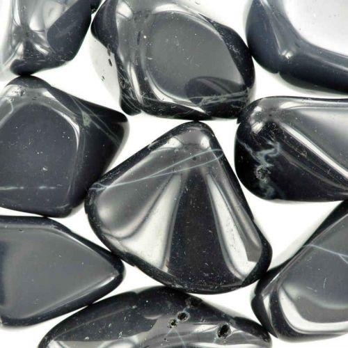 Poids du lot d'obsidienne toile d'araignée : 250 gr. 9 pierres env.