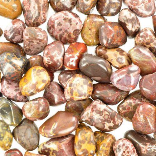 Poids du lot de jaspe bonne nuit : 250 gr. 76 pierres env.