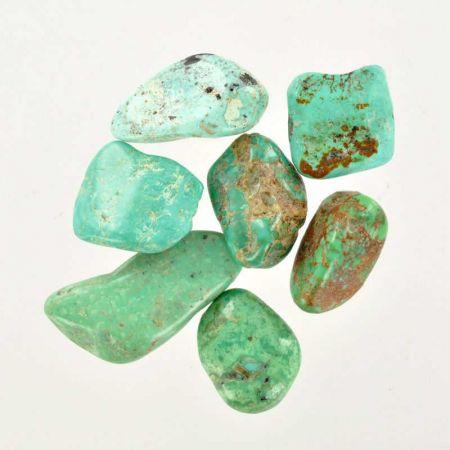 Poids du lot de turquoise d'Arizona : 25 gr. 7 pierres env.