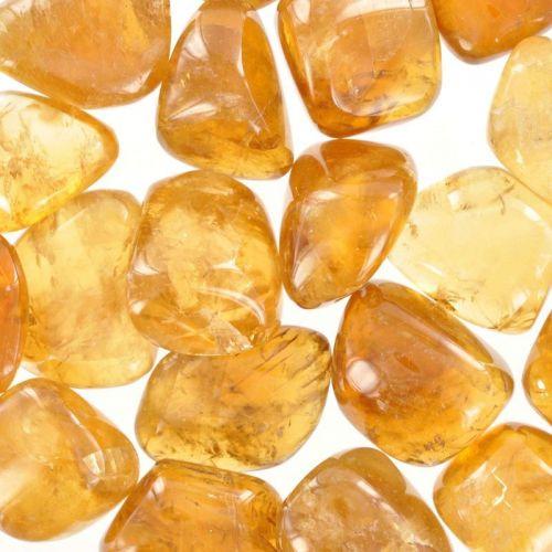 Poids du lot de calcite doré : 250 gr. 20 pierres env.