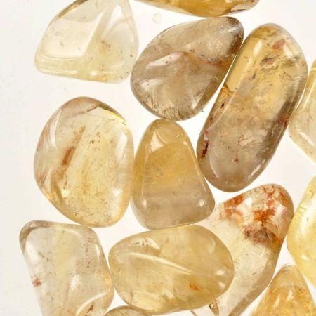 Poids du lot de citrine naturelle : 250 gr. 15 pierres env.