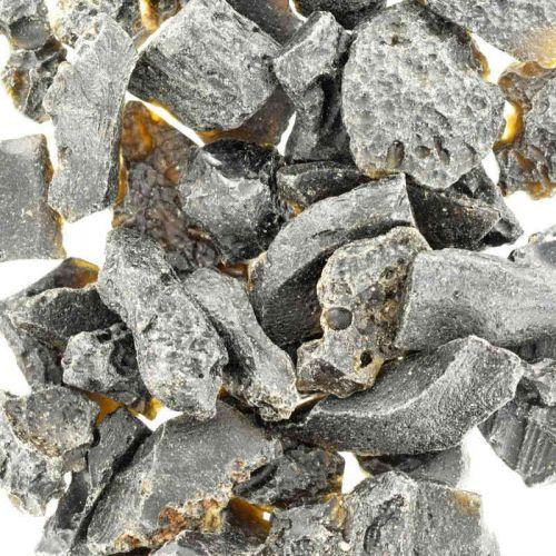 Poids du lot de tectite : 150 gr. 50 pierres env.