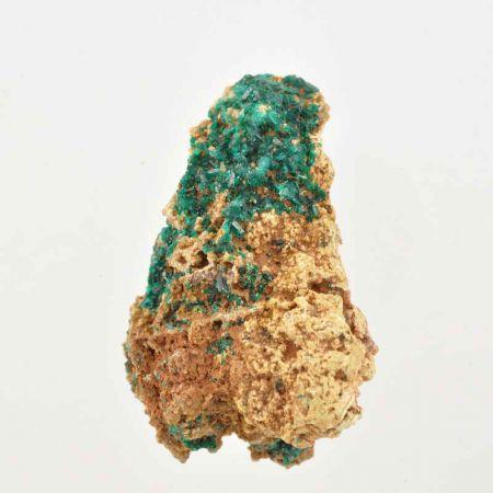 Poids du lot de dioptase : 59 gr.  1 pierre env.