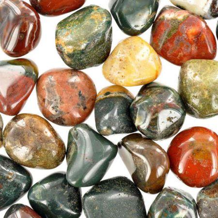Poids du lot de jaspe irai : 250 gr.  30 pierres env.