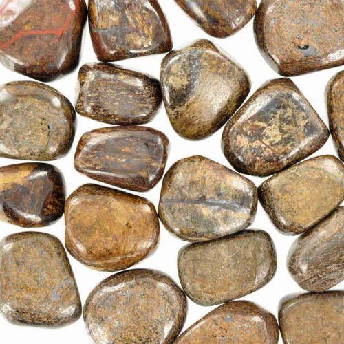 Pierres roulées Bronzite
