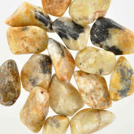 Poids du lot de cassitérite: 100 gr. 15 pierres env.