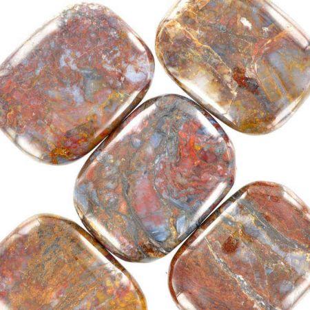 Poids du lot de pietersite : 50 gr. 5 pierres env.