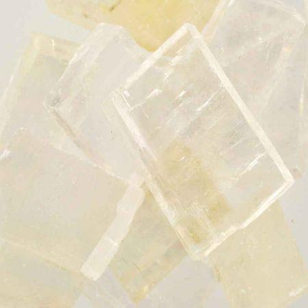 Poids du lot de calcite optique : 250 gr. 11 pierres env.