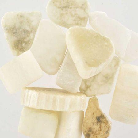 Poids du lot d'ulexite : 100 gr. 12 pierres env.