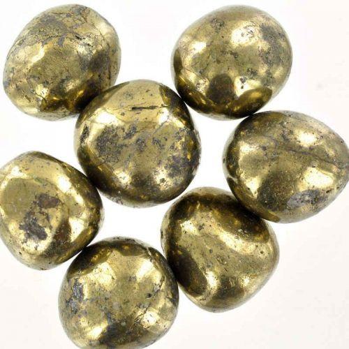 Poids du lot de pyrite : 200 gr. 7 pierres.