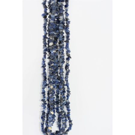 Colliers sautoirs baroques Sodalite